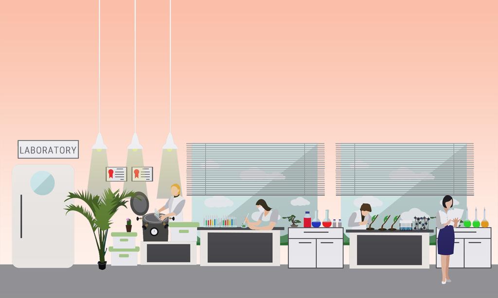 izgled modernog laboratorija