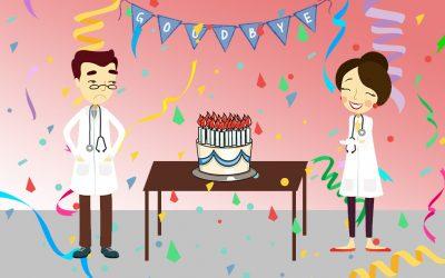 Stetoskop – sretan rođendan i doviđenja?