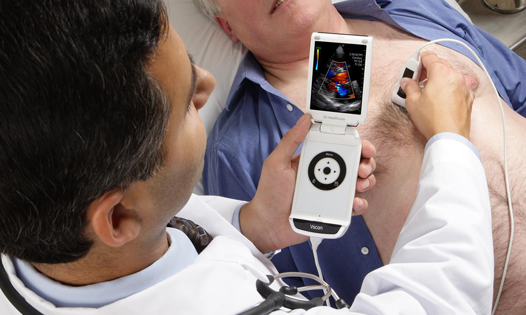 pregled sa vscan prijenosnim ultrazvukom