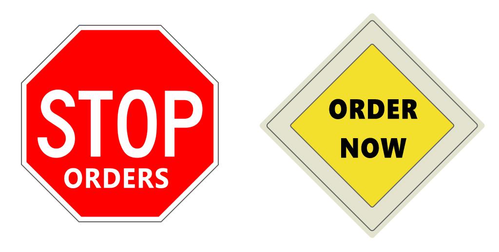 zabrana i dozvola za naručivanje